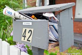 Remove your mail each day don't allow your box to be an easy target