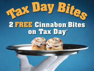 Tax Day Freebies 2013