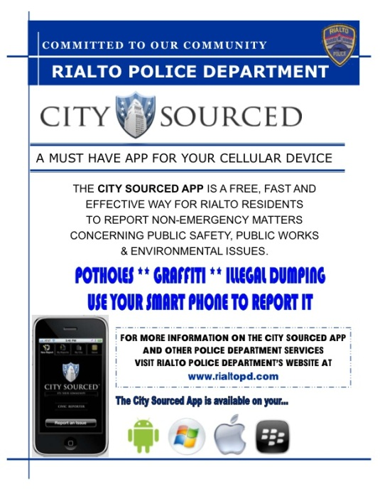 For More details go to www.rialtopd.com
