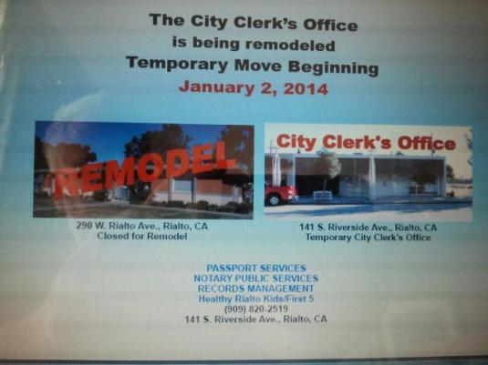 City Clerk Office