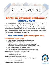 Practically everyone we know is connected to some kind of social networking site like Facebook, Twitter or Instagram. Tell your family and friends it's time to get covered. Open enrollment began October 1, 2013, and ends March 31, 2014.