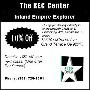 The Rec Center Coupon