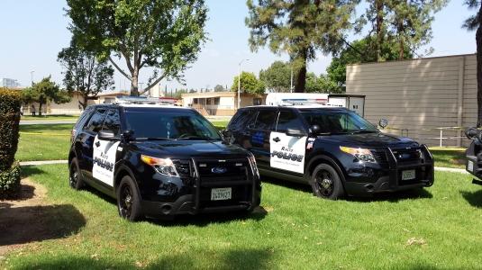 Rialto Police K9 Cars