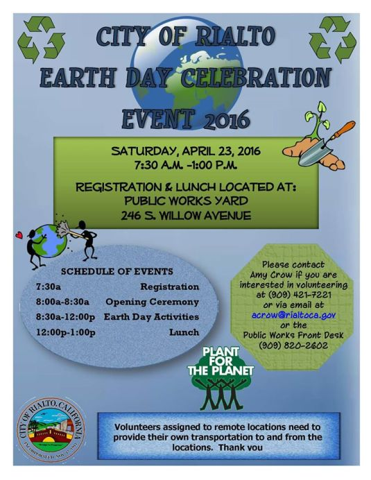 Rialto Earth Day