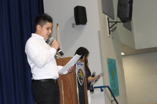 jehue-student-speaking